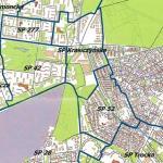 Mapa obwodów szkół podstawowych na Targówku – po likwidacji gimnazjów