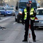 Po wypadku na Bazyliańskiej policja apeluje o rozwagę