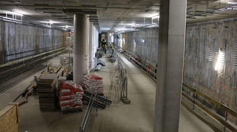 Raport z budowy metra: co zbudowano w styczniu 2018?