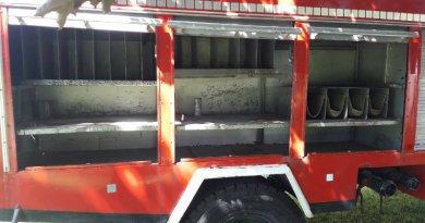 Strażacy z Białołęki okradzeni na Targówku Fabrycznym