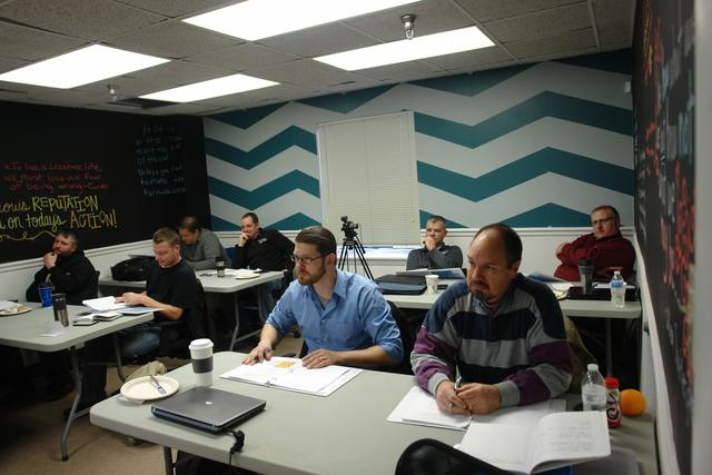 Employees at Mold Training