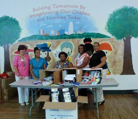 Forsyth Head Start & Family Services Benefit from School Supply Drive