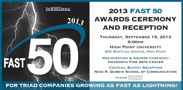 2013 Fast 50 Award Ceremony and Reception