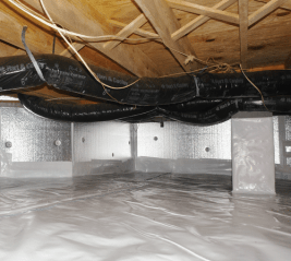 encapsulating your crawl space helps save on home energy costs