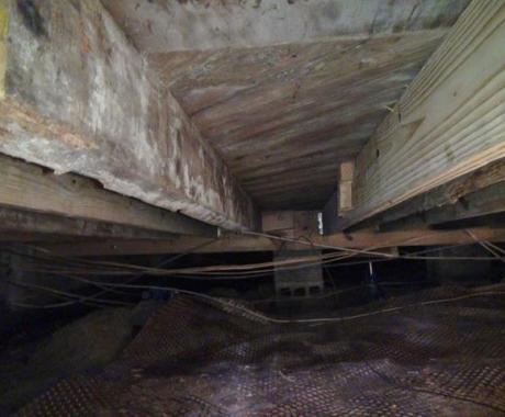 Moldy, Rotten Joists Replaced to Stabilize Home in High Point, NC