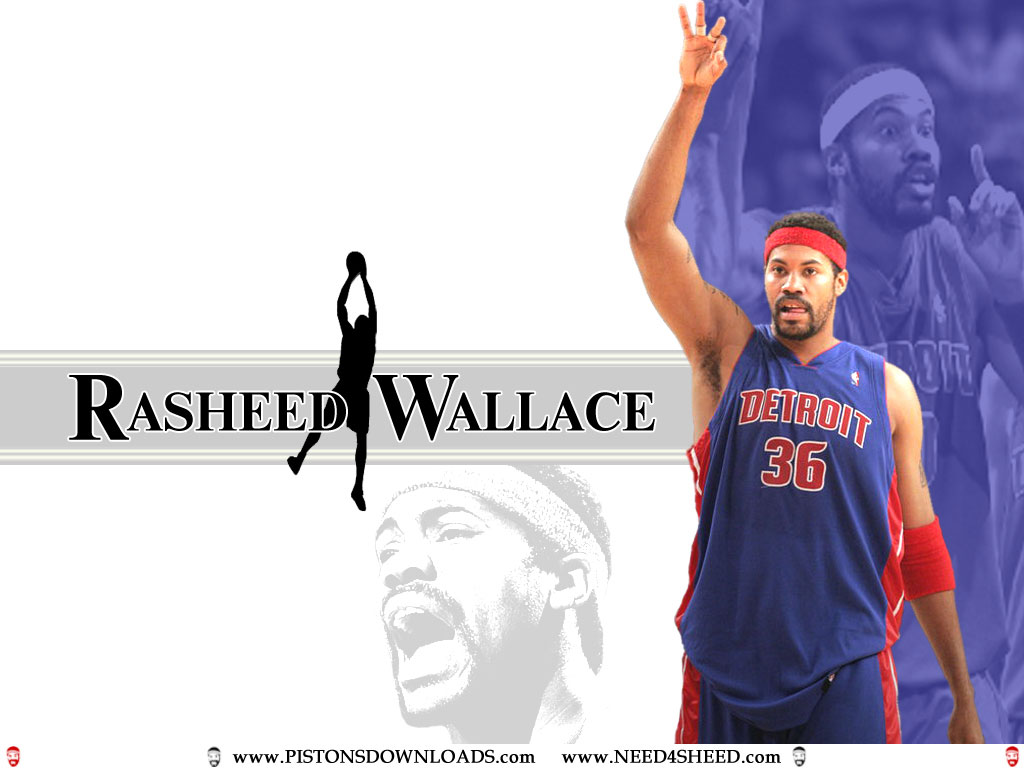 Photo Rasheed Wallace Wallpaper 2  Tar Heel Times