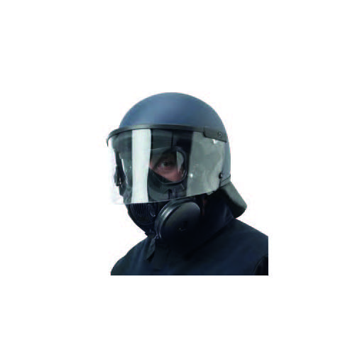 INTERGRATED MASK AND RIOT HELMET 1