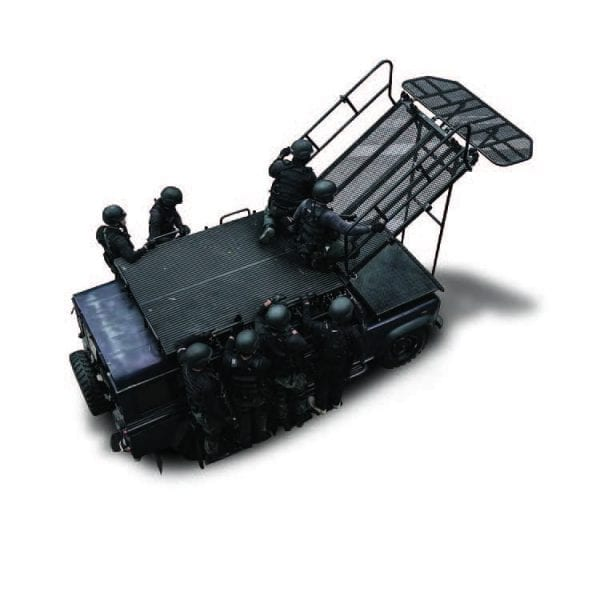 ROOF MOUNTED VEHICLE ASSAULT SYSTEM 1