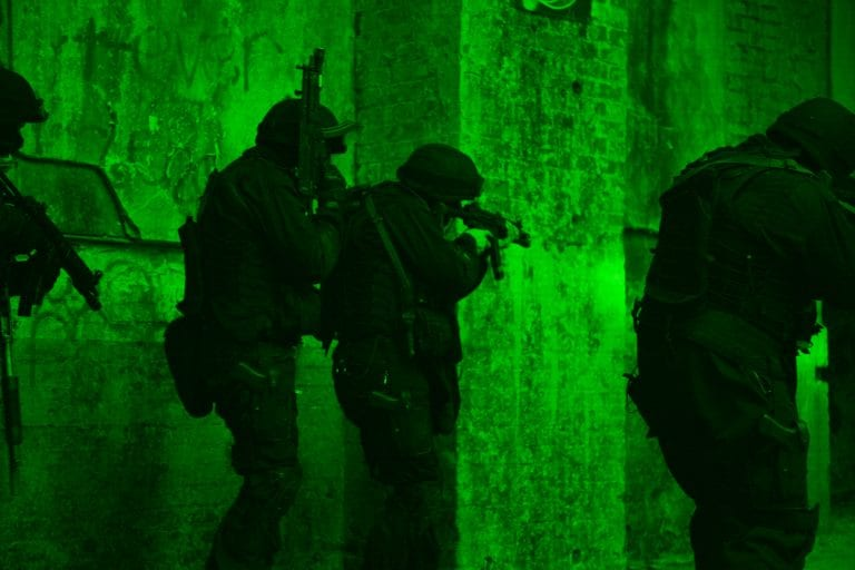 ADVANCES IN NIGHT VISION GIVE TROOPS BIG EDGE 8