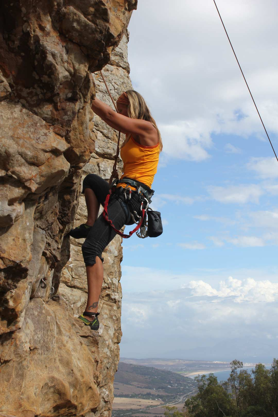 Rock Climbing Tarifa Adventure