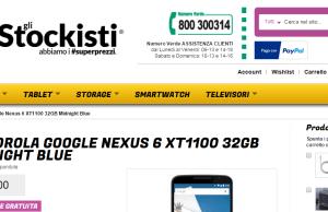 nexus 6 glistockisti