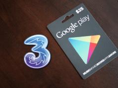 3 italia, app credito telefonico google play store
