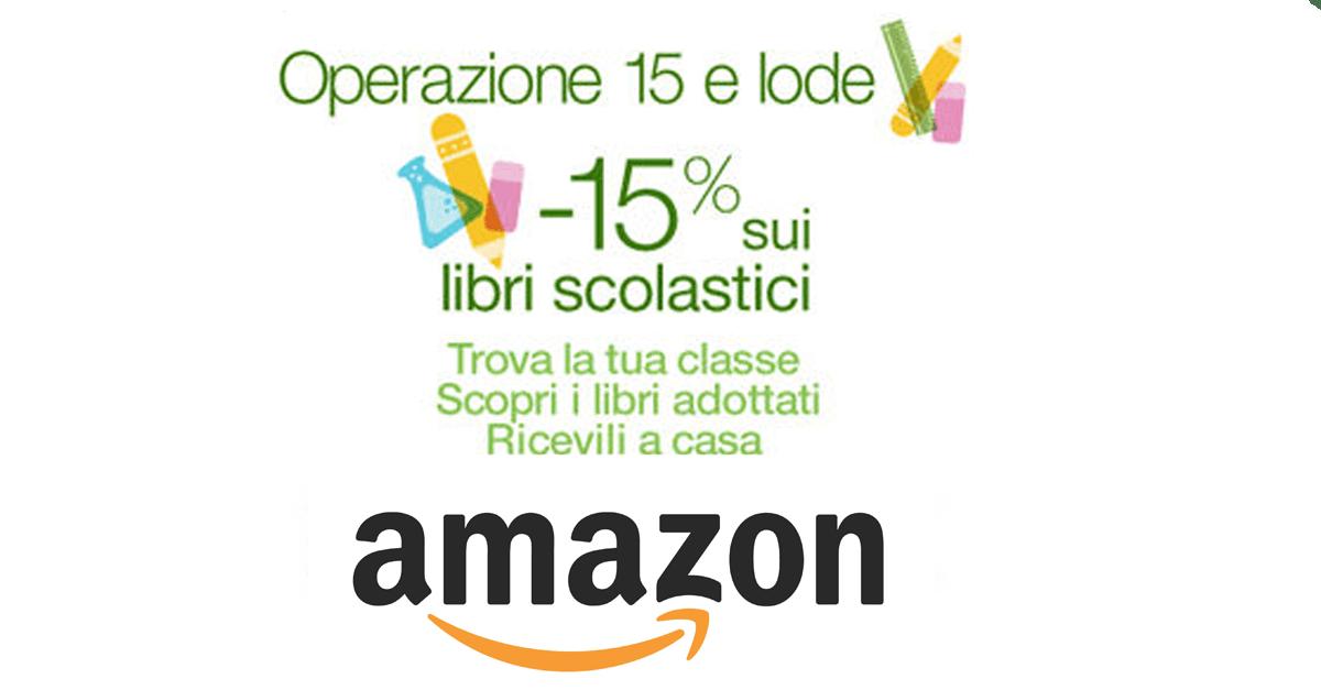 Libri scolastici il risparmio arriva da amazon for Codice promozionale amazon libri scolastici