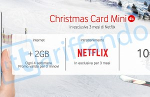 Vodafone Christmas Card Mini