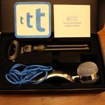Tonor 3.5mm Spina Professionale Microfono a condensatore cardioide con supporto per Skype PC Mac Laptop Recording