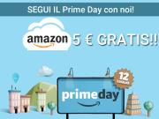 5 euro gratis amazon prime day