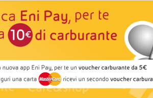 eni pay carburante buoni gratis