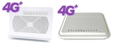 Modem interno e modem esterno 4G+ di Tiscali