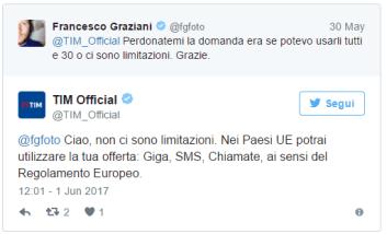 roaming tim europa