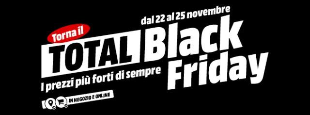 total black friday mediaworld