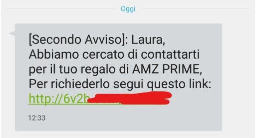 AMZ PRIME truffa