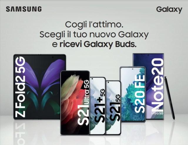 samsung galaxy buds omaggio