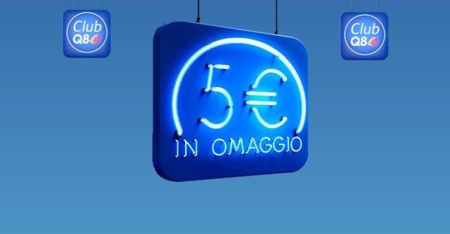 q8 5 euro gratis