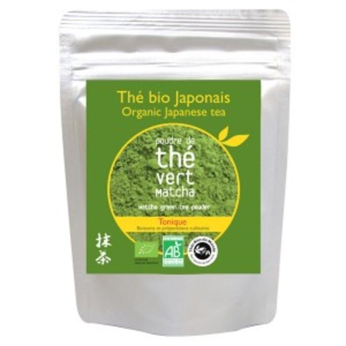 poudre de the vert matcha bio sachet de 50 g
