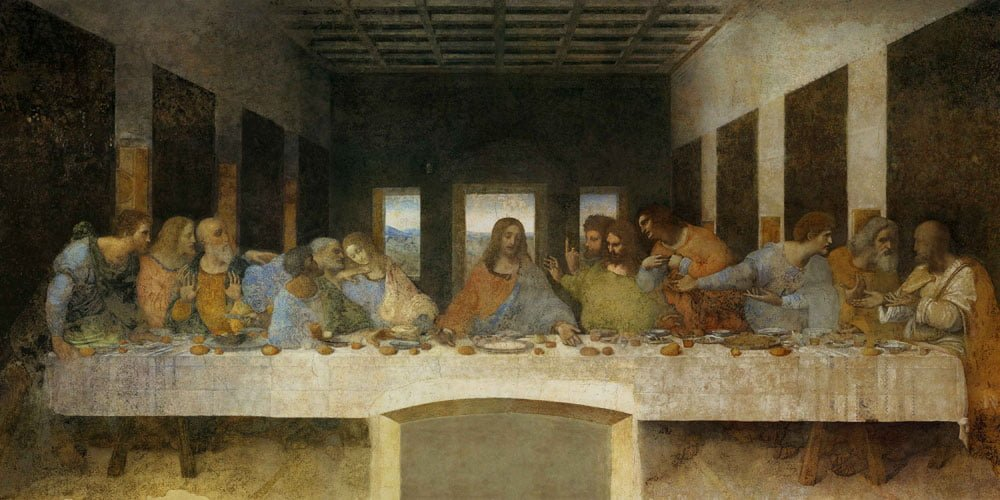 Son Akşam Yemeği - Leonardo da Vinci | Tarihli Sanat