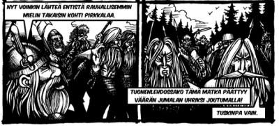 Lappalaisten vankeina (Kuvitus: V.Koskivirta)