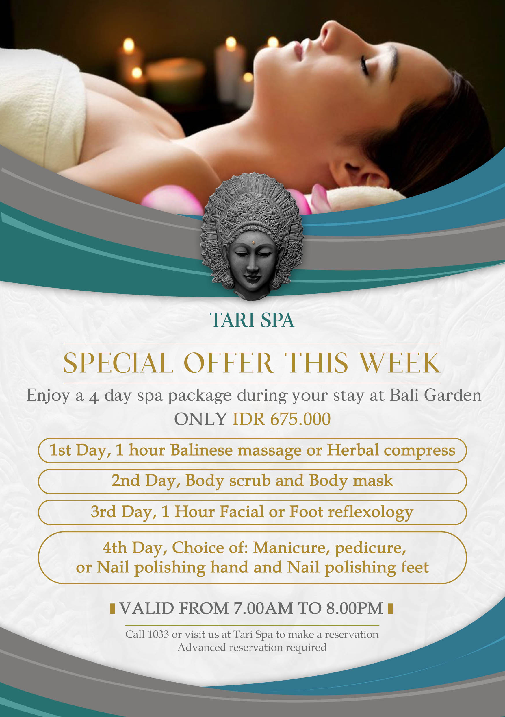 Tari Spa  Spa of Bali Garden Beach Resort