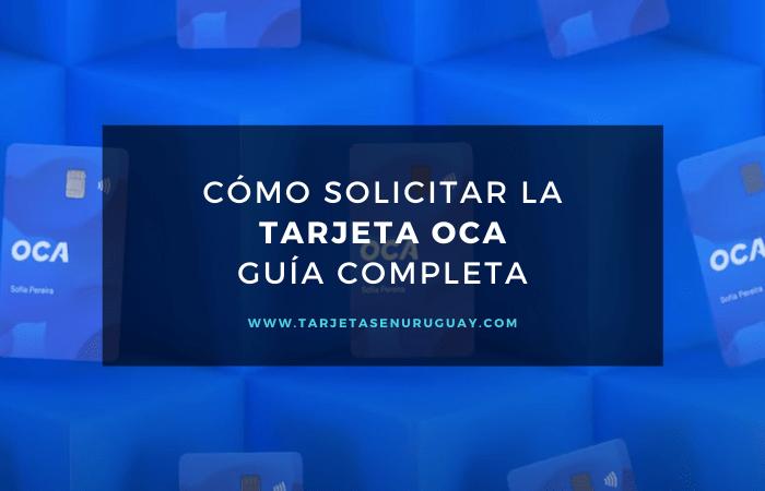 Solicitar tarjeta OCA Uruguay