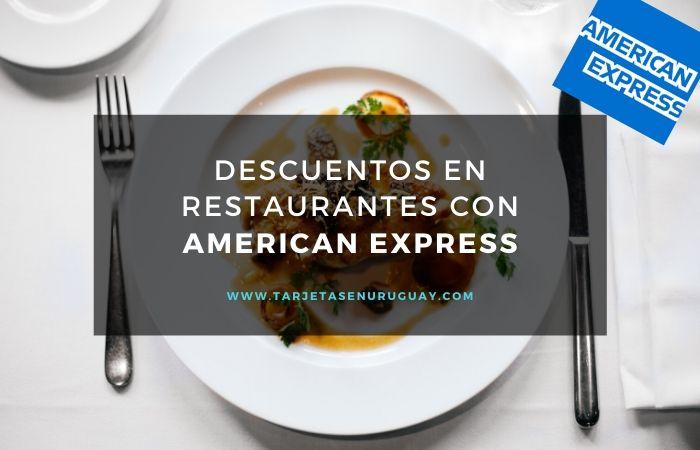 Descuentos en Restaurantes con American Express