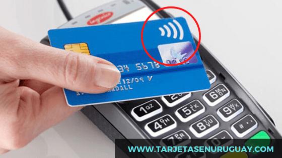 Tarjeta de crédito sin contacto