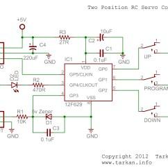 Servo Motor Wiring Diagram Orbit Fan Switch Two Position Rc Controller  Tarkan 39s Bored