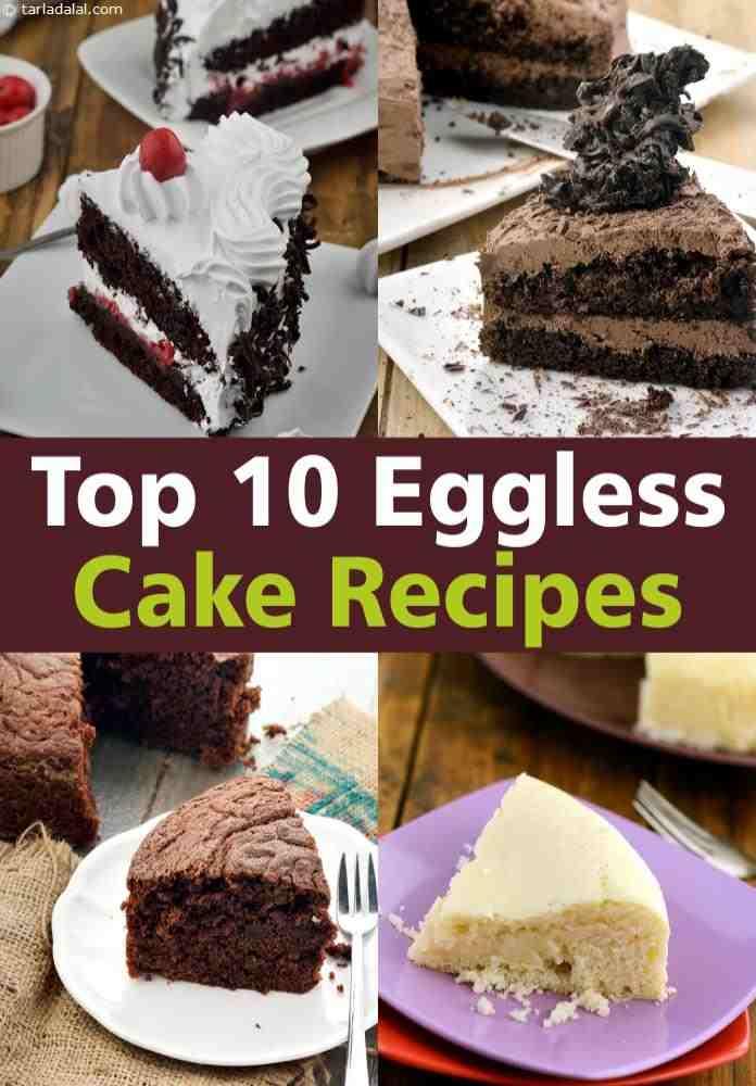 Top 10 Eggless Cake Recipes Tarladalalcom