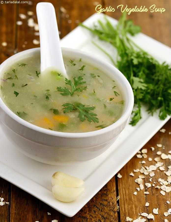Garlic Vegetable Soup Healthy Heart Recipe Low