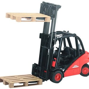 Bruder 02511 Linde H30D Forklift with Tow-Coupling and 2 Pallets tarland toy shop