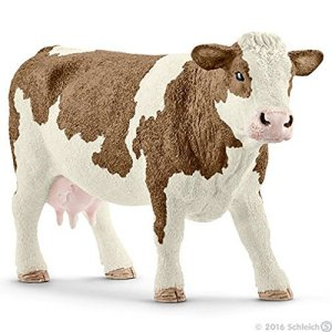 Schleich 13801 Simmental cow