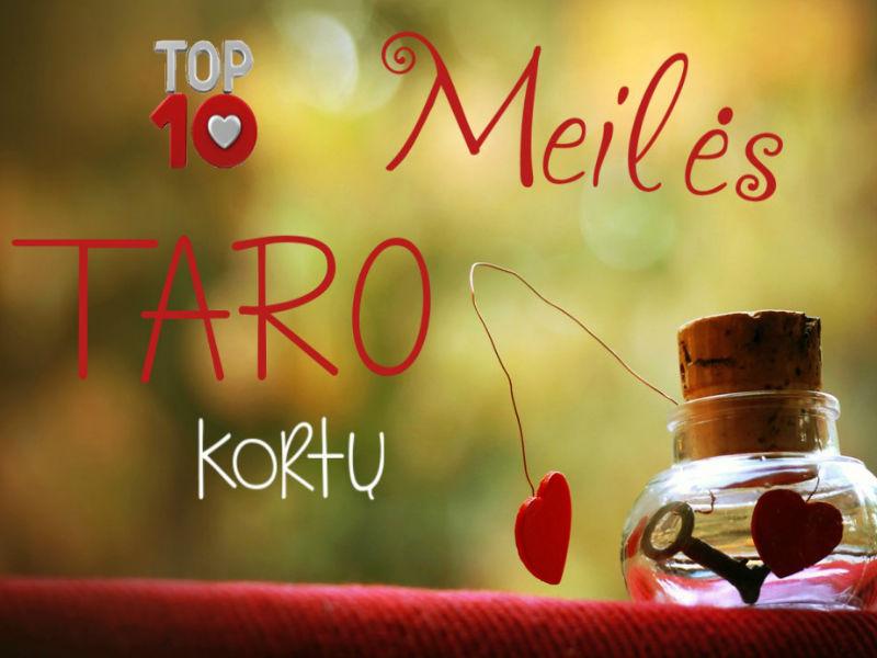 TOP 10 Taro kortų meilei
