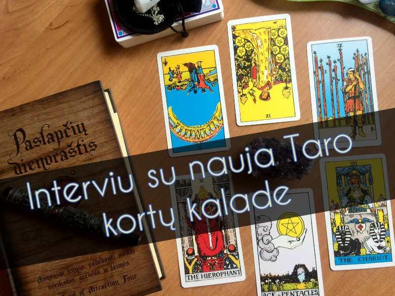 Interviu su nauja Taro kortų kalade