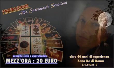 PROMOZIONE : mezz'ora di consulto a 20 euro