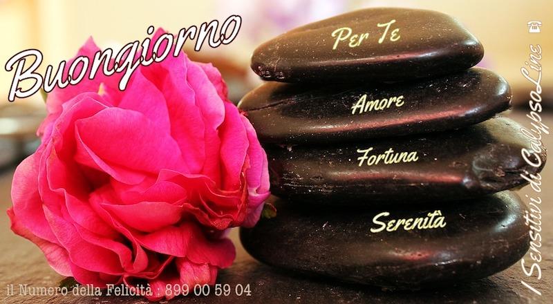 Buongiorno Per Te Amore Fortuna E Serenita