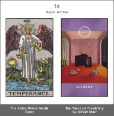 14 Temperance/Alchemy