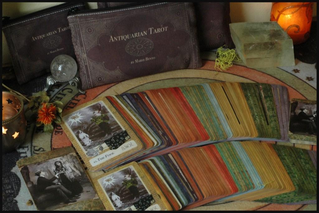 Antiquarian Tarot Deck