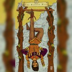 Emilie's Kindred Spirits Tarot, the hanged man