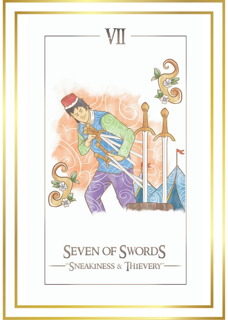 7 of swords tarot