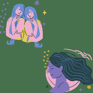 Gemini and Virgo