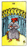 Tarot Minor Arcana card: Nine of Cups