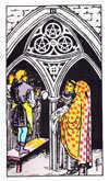 Tarot Minor Arcana card: Three of Pentacles